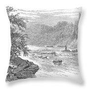 Arkansas: Ouachita River Throw Pillow by Granger