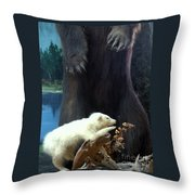Arkey Was Far Sighted Too Throw Pillow