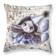 Arlequin Throw Pillow by Mo T