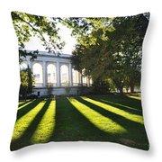 Arlington Memorial Amphitheater Throw Pillow