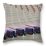 Arlington West Throw Pillow