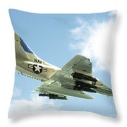 Armed And Dangerous Throw Pillow by Methune Hively