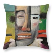 Arnold The Explorer Throw Pillow
