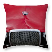 Arnolt Grille Throw Pillow