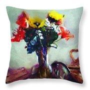 Arrangement Romantica Throw Pillow
