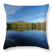Arrow At Summit Lake Throw Pillow
