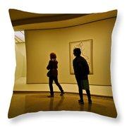 Art Appreciators Throw Pillow