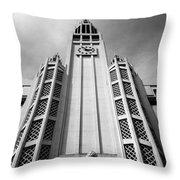Art Deco Church Throw Pillow