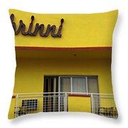 Art Deco Miami 7 Throw Pillow