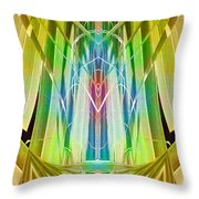 Art Deco Reredos Throw Pillow