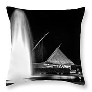 Art Fountain Throw Pillow