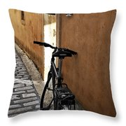 Art Gallery Rest Throw Pillow