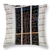 Art In Glass Throw Pillow