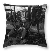 Art Smith (1894-1926) Throw Pillow