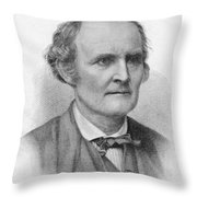 Arthur Cayley, English Mathematician Throw Pillow