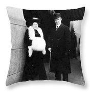 Arthur Henry Rostron Throw Pillow
