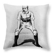 Arthur Irwin (1858-1921) Throw Pillow