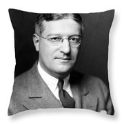 Arthur Krock (1886-1974) Throw Pillow