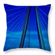 Arthur Ravenel Jr Bridge IIi Throw Pillow