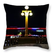 Artistic Lights Throw Pillow