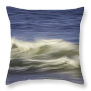Artistic Wave Throw Pillow