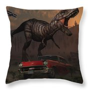 Artists Concept Illustrating Throw Pillow