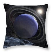 Artists Illustration Of An Extrasolar Throw Pillow