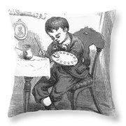 Artists Son Throw Pillow