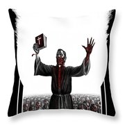 As I Rule They Shall Follow Throw Pillow