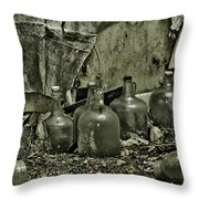 As The Moon Shines Throw Pillow