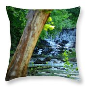 As The River Runs Through It Throw Pillow