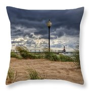 As The Storms Roll Through 2 Throw Pillow