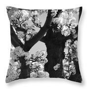 As Your Lips Touched My Cheek Throw Pillow