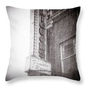 Asbury Female Revue Throw Pillow