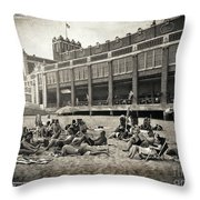 Asbury Park Throw Pillow by Kevyn Bashore