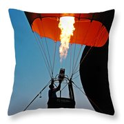Ascension Flames Throw Pillow
