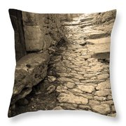 Ascent In Beynac France Throw Pillow