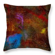 Asian Gardens II Throw Pillow