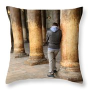 Asking For Forgiveness Throw Pillow