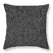 Asphalt Road Background Throw Pillow