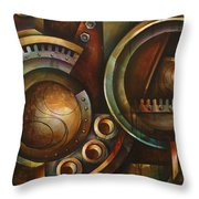'assembly Required' Throw Pillow by Michael Lang