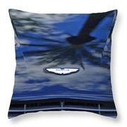 Aston Martin Hood 2 Throw Pillow