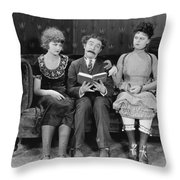 Astray From The Steerage Throw Pillow