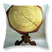 Astrolabe Throw Pillow