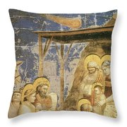 Astronomy In Painting Throw Pillow