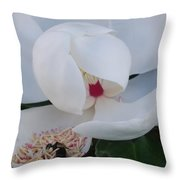 At Breakfast 2 Throw Pillow