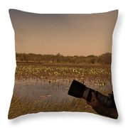 At Mistake Billabong Kakadu National Park Throw Pillow