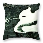 At Night I Dream Of My Beloved Throw Pillow