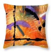 At Sunshine Crossing Throw Pillow