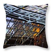 At The Amway Throw Pillow